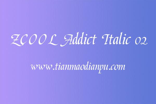 站酷意大利体 02字体可免费商用-网店交易论坛提供下载