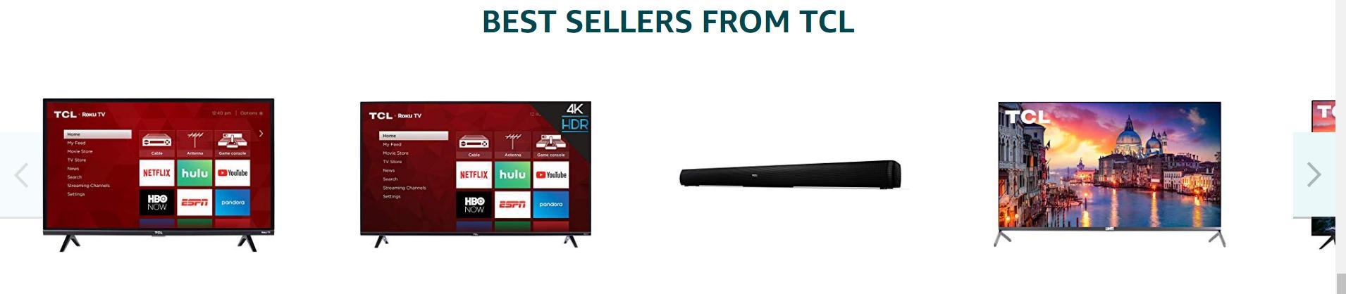 亚马逊品牌旗舰店设计详解-以电视品牌店为例